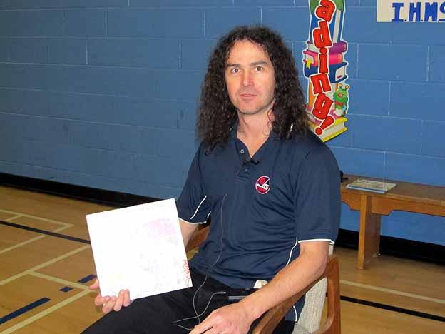 Mr. Taz Stuart, entomologist for the City of Winnipeg